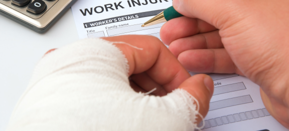 Case Study – Injury at Work