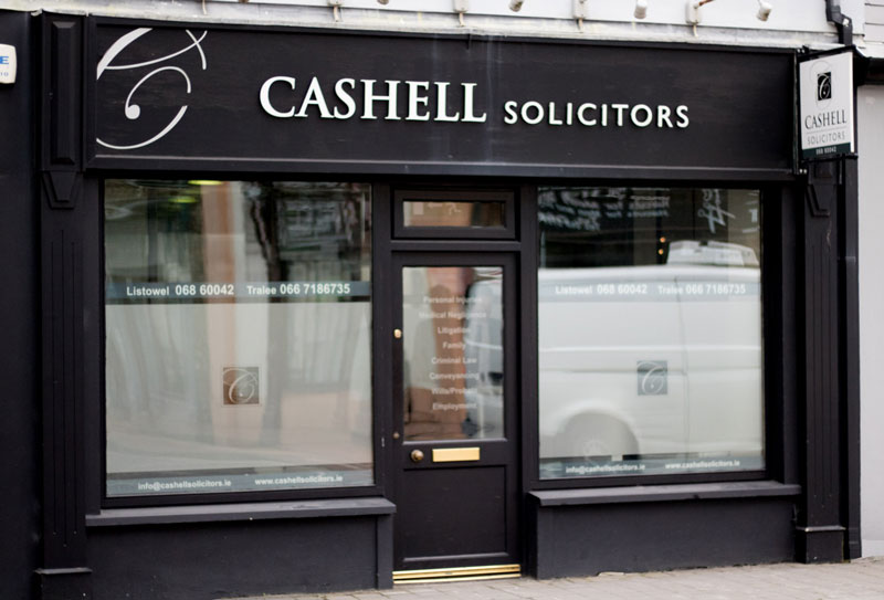 Cashell Solicitors - Law Firm - Tralee & Listowel Co  Kerry